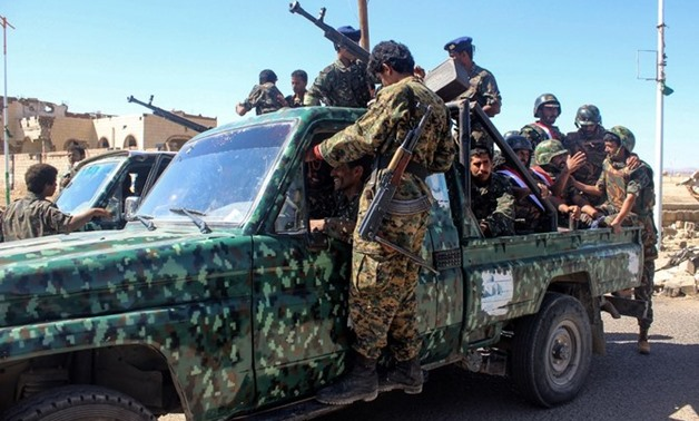The Yemeni army attacked the militia as they were trying to block roads in various areas in Al-Dhale province. (AFP/File)