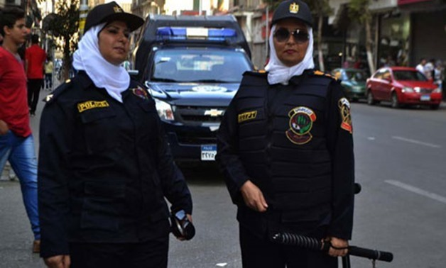 FILE - Egypt deploys female police to combat sexual harassment