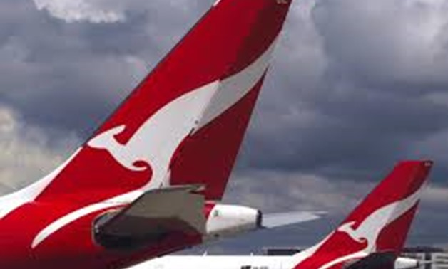FILE PHOTO: Two Qantas Airways Airbus A330 aircraft can be seen on the tarmac near the domestic terminal at Sydney Airport in Australia, November 30, 2017. REUTERS/David Gray