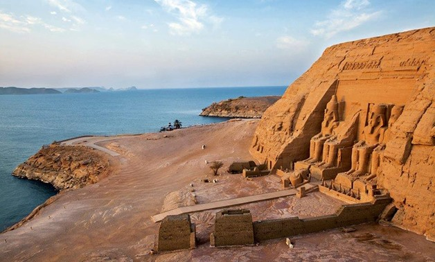 Abu Simble temple in Aswan-photo courtesy of This Is Egypt Facebook page