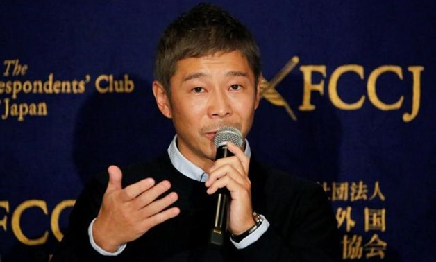 Japanese fashion tycoon Yusaku Maezawa said he plans to auction off artworks worth millions of dollars because he has no money - Reuters