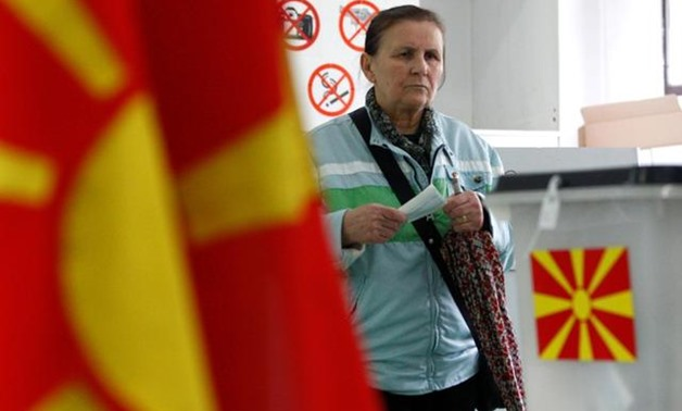 Voting in a run-off for a new president in North Macedonia began on Sunday, in an election that has been dominated by divisions over a change in the country's name to mollify Greece and open the way for membership of NATO and the European Union.