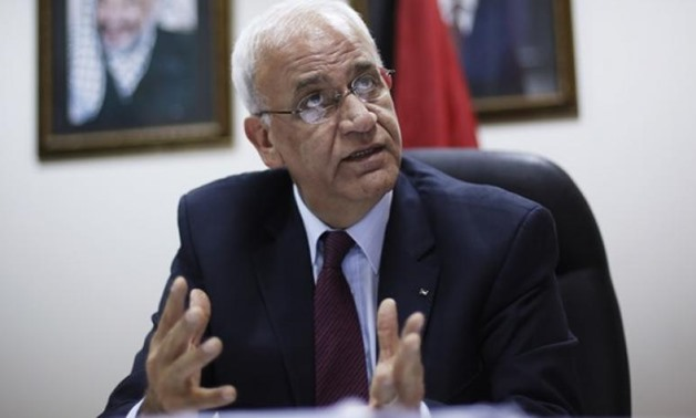 Secretary-General of the Palestinian Liberation Organization's (PLO) executive committee Saeb Erekat. Reuters
