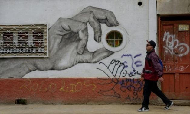 Graffiti and mural art have exploded in Valparaiso over the last five years AFP