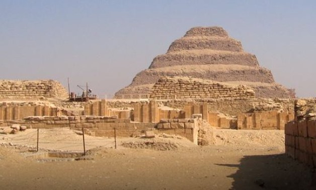 FILE - Pyramid of Djoser