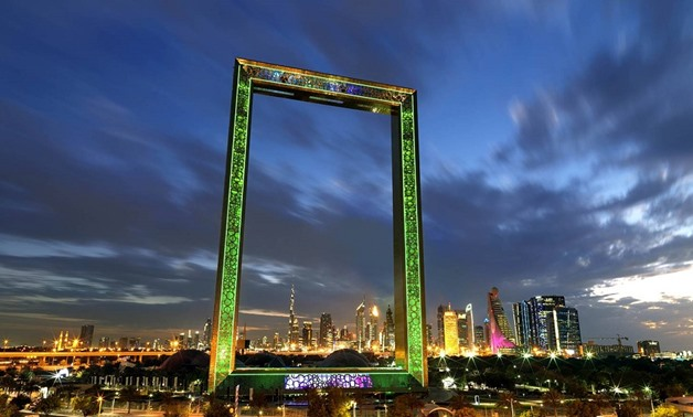 The Dubai Frame – Source: Onyxsolar