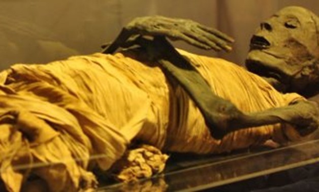 One of the Royal mummies- Egypt Today.