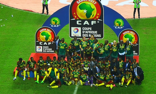 FILE - African Cup of Nations