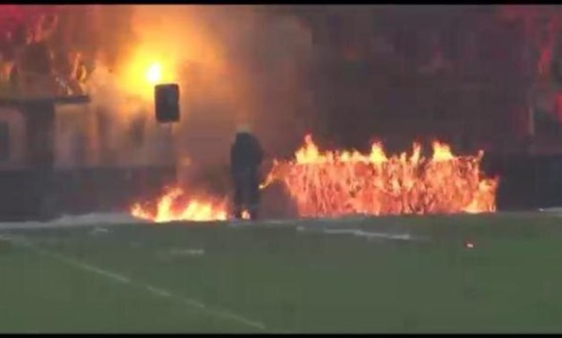 Violence breaks out at Lazur Stadium in Burgas at the Bulgarian Cup final - CBS
