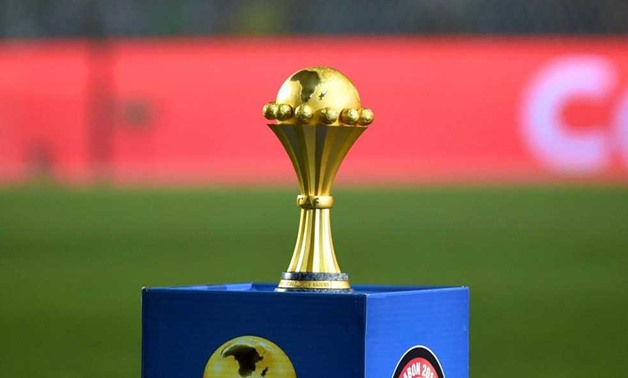 African Cup of Nations trophy - FILE