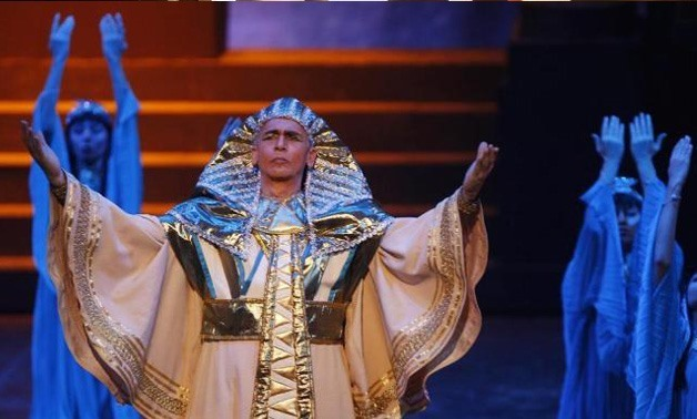 A performance of Aida at the Cairo Opera House in 2009© AMR DALSH / REUTERS
