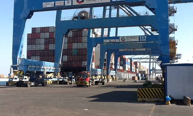 Ain Sokhna port- File photo/ Egypt Today