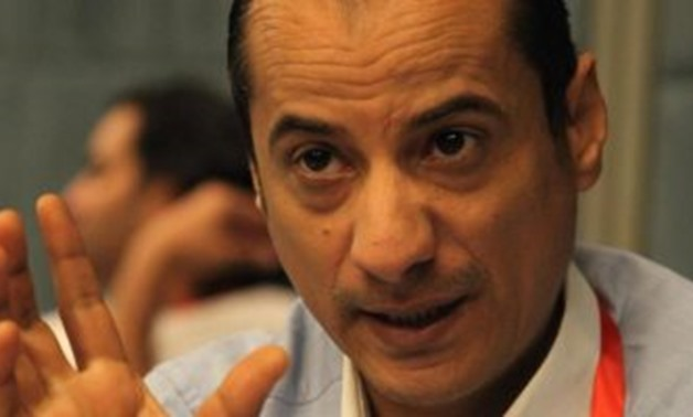 FILE – Saeed Abdel Hafez, head of Egypt-based Forum for Development and Human Rights Dialog