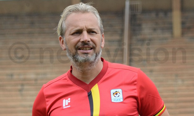Uganda manager, Sebastien Desabre, photo by  Michael Nsubuga