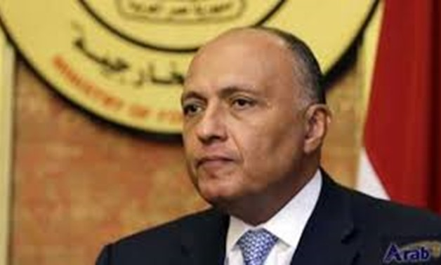 Foreign Minister Sameh Shoukry - FILE
