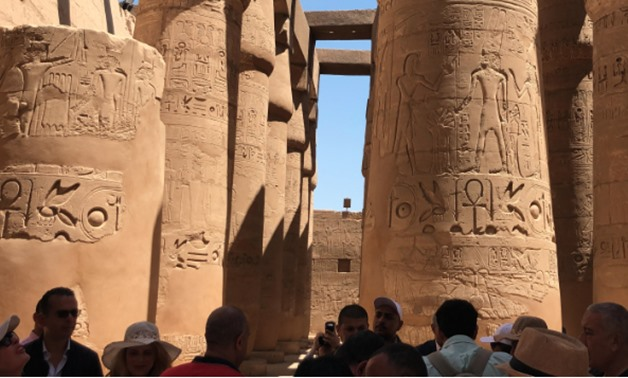 Part of the Karnak Temples - Mustafa Marie