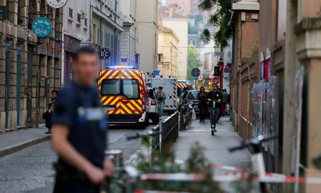 French police hunt suitcase bomber after blast in Lyon - Reuters