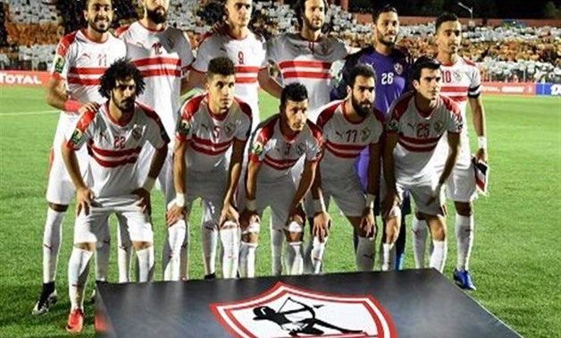 Zamalek team- FILE