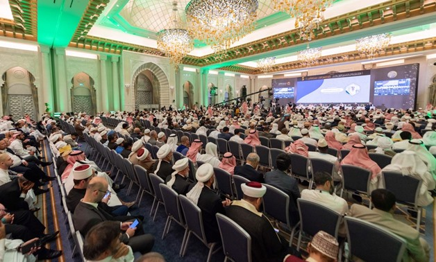 More than 1,000 Islamic scholars and religious experts as well as 80 moderate Muslim figures gather to review their opinion regarding violence and targeting innocent societies - Press photo
