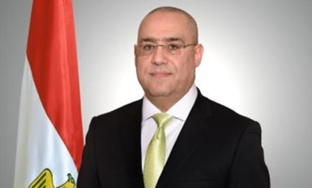 FILE - Minister of Housing, Utilities, and Urban Development Essam al-Gazar