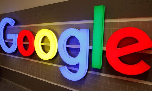 FILE PHOTO: An illuminated Google logo is seen inside an office building in Zurich, Switzerland December 5, 2018. REUTERS/Arnd Wiegmann