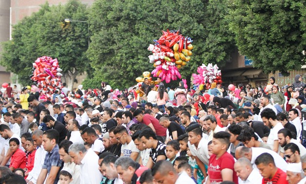 Egyptians first day of Eid al-Fitr/ Egypt Today
