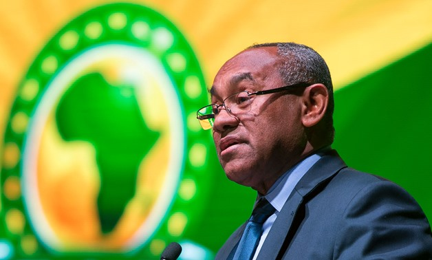 File- Ahmed Ahmed, CAF Chief- AFP