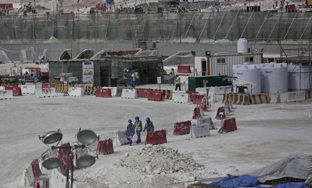 According to Nepali government figures, construction site accidents and squalid living conditions in the tiny Gulf state are claiming around 110 lives every year. - Himalayan Times