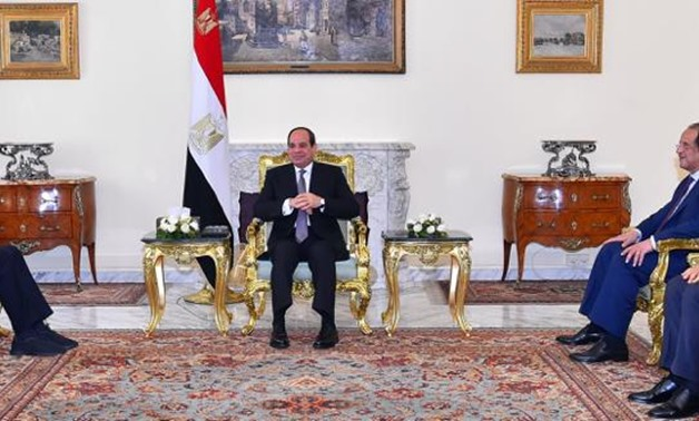 President Abdel Fatah Al-Sisi receives World Jewish Congress Chief Ronald Lauder in Cairo, Egypt. June 11, 2019 – Press photo