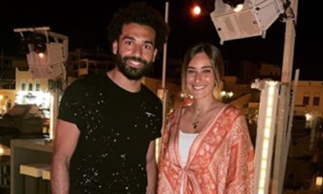Amina Khalil and Mohamed Salah - Instagram.