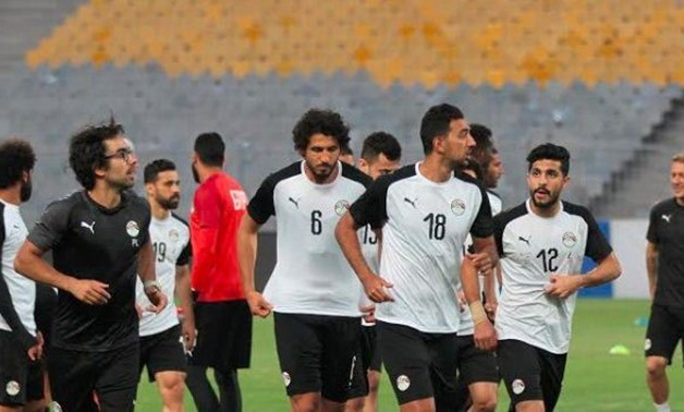 Egyptian national team – Courtesy of Egyptian Footaball National team official account on Twitter