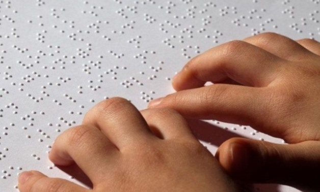 FILE - Braille card system -for the blind- to be officially used in Egyptian Museum Halls.