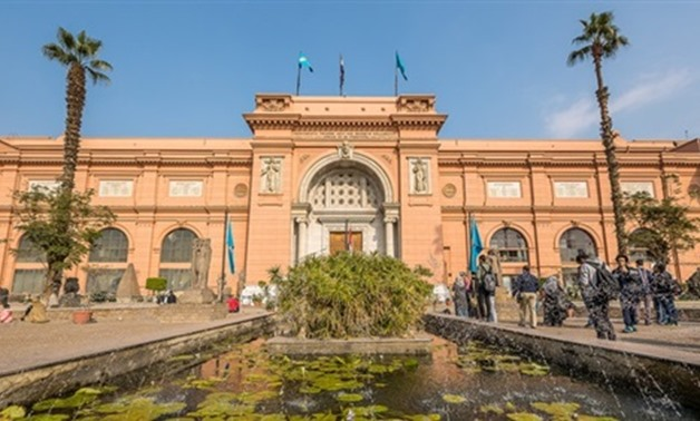 The Egyptian Museum in Tahrir - Press photo