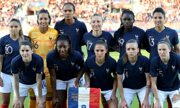Franck Fife, AFP   France's Les Bleues are set to meet Nigeria's Super Falcons in their final Group A match on Monday night.