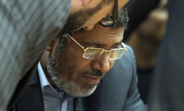 FILE: Morsi was also given a 20-year sentence over the killing of protesters in December 2012.