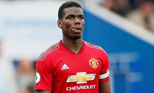 Express Community Stadium, Brighton, Britain - August 19, 2018 Manchester United's Paul Pogba looks dejected during the match REUTERS/David Klein