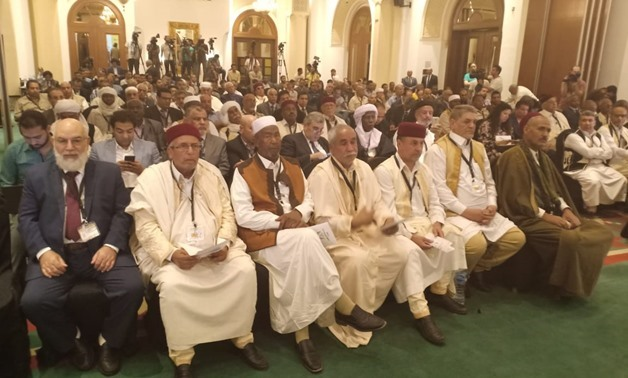 The Libyan National Parties Conference held in Cairo, Egypt on June 17 -18. Press Photo