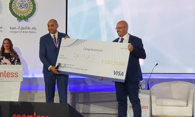 Egyptian startup Paynas, specialized in providing financial technology solutions, wins Visa's FinTech pitch-off competition of $50,000.