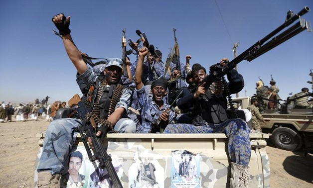 The Arab Parliament's spokesperson said Houthis threaten Yemeni MPs who attend Parliament sessions. (File/AFP)