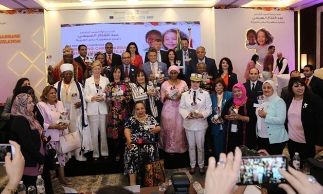 Cairo hosts regional conference on eliminating child marriage, FGM in Africa - Press photo