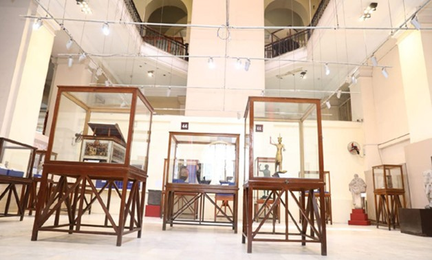 A new path tailor made for visually impaired was inaugurated        in Egyptian Museum in Tahrir on June 20 - Egypt Today.