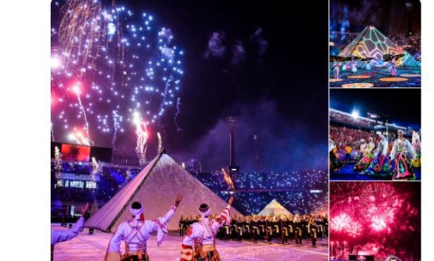 The 2019 AFCON opening ceremony was just amazing on Friday night at Cairo stadium