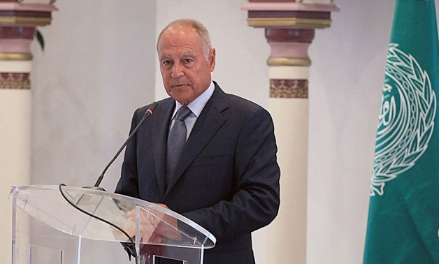 Abul Gheit reiterates call for putting end to fighting in Libya
