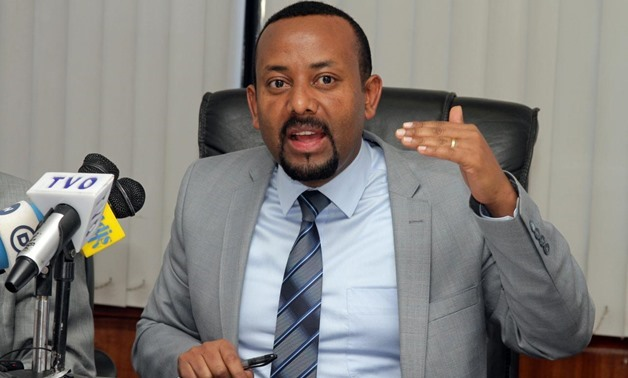 FILE PHOTO: Abiye Ahmed addresses a news conference in Addis Ababa, Ethiopia December 4