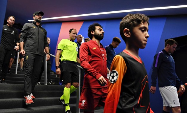 Badraldeen Ahmed Abdelsalam, an Egyptian boy with a passion for football with Mohamed Salah