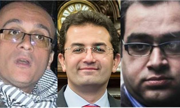 Compiled photo, from left: HishamFouad, Omar al-Shenety, Zyad al-Elemy