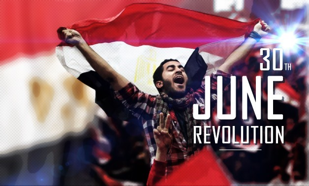 Combined photo about June 30 Revolution- Egypt Today/Mohamed Zain