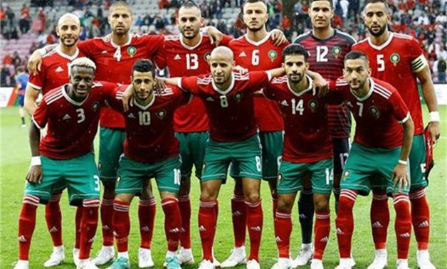 FILE - Moroccan National Football Team