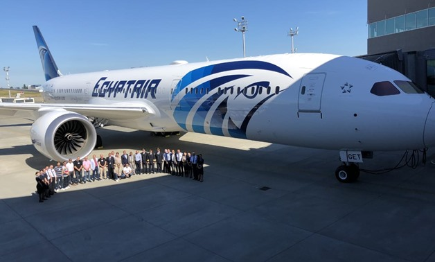 Fourth Boeing 787-9 Dreamliner - Egypt Today