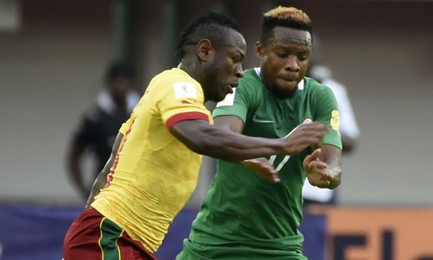 Cameroon vs Nigeria - FILE